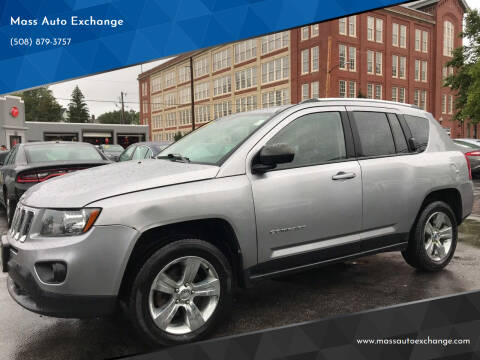 2014 Jeep Compass for sale at Mass Auto Exchange in Framingham MA