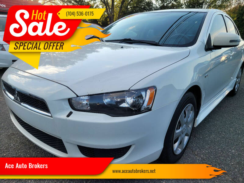 2015 Mitsubishi Lancer for sale at Ace Auto Brokers in Charlotte NC