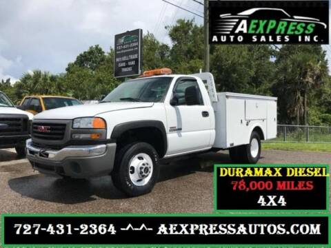 2006 GMC Sierra 3500 for sale at A EXPRESS AUTO SALES INC in Tarpon Springs FL