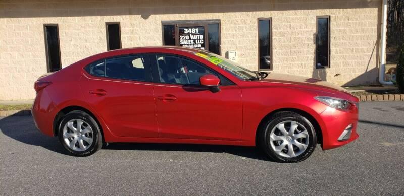 2014 Mazda MAZDA3 for sale at 220 Auto Sales LLC in Madison NC
