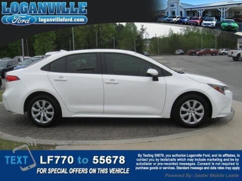 2021 Toyota Corolla for sale at Loganville Quick Lane and Tire Center in Loganville GA