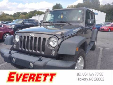 2017 Jeep Wrangler Unlimited for sale at Everett Chevrolet Buick GMC in Hickory NC