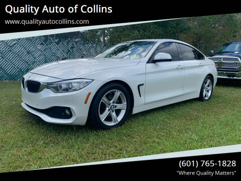 2015 BMW 4 Series for sale at Quality Auto of Collins in Collins MS
