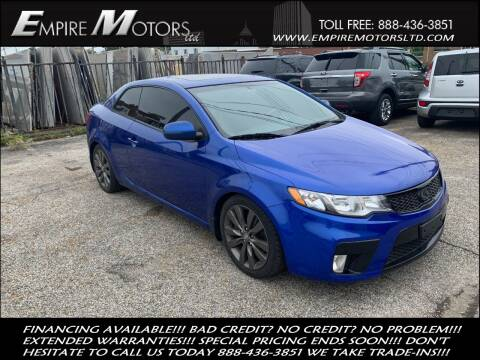2012 Kia Forte Koup for sale at Empire Motors LTD in Cleveland OH
