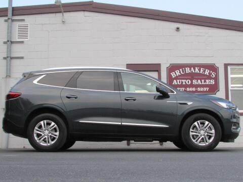 2018 Buick Enclave for sale at Brubakers Auto Sales in Myerstown PA