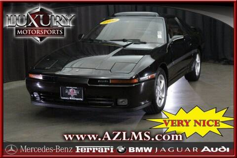 1990 Toyota Supra for sale at Luxury Motorsports in Phoenix AZ