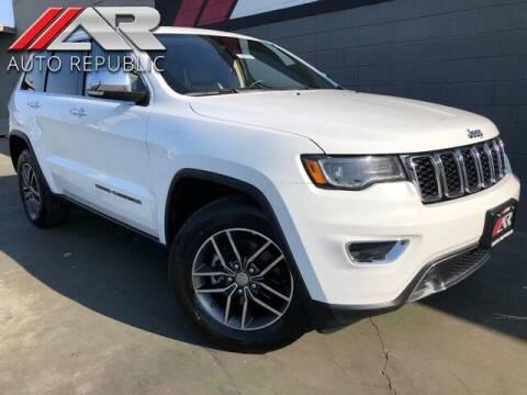 2017 Jeep Grand Cherokee for sale at Auto Republic Fullerton in Fullerton CA