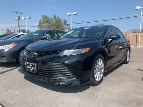 2019 Toyota Camry for sale at Berge Auto in Orem UT