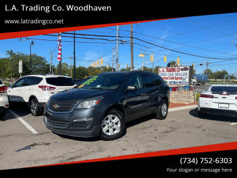 2014 Chevrolet Traverse for sale at L.A. Trading Co. Woodhaven in Woodhaven MI
