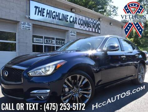 2018 Infiniti Q70 for sale at The Highline Car Connection in Waterbury CT