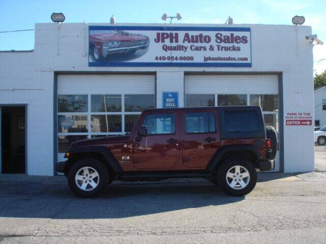 2009 Jeep Wrangler Unlimited for sale at JPH Auto Sales in Eastlake OH