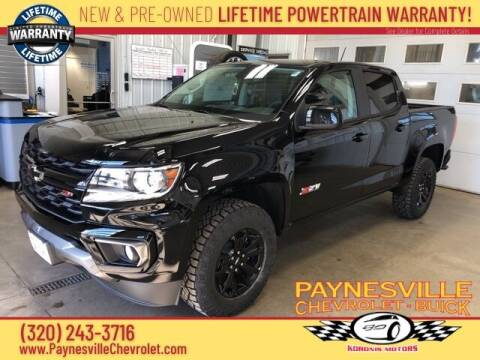 2021 Chevrolet Colorado for sale at Paynesville Chevrolet Buick in Paynesville MN