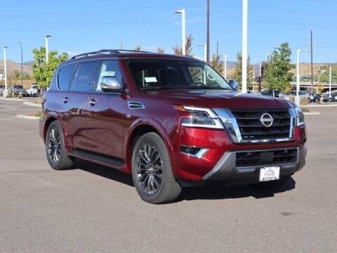 2022 Nissan Armada for sale at EMPIRE LAKEWOOD NISSAN in Lakewood CO