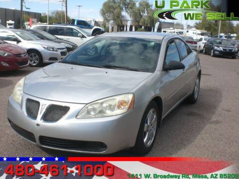 2006 Pontiac G6 for sale at UPARK WE SELL AZ in Mesa AZ