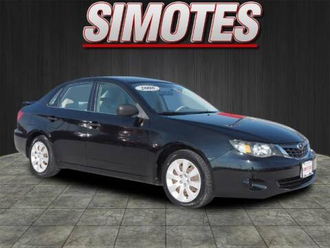 2008 Subaru Impreza for sale at SIMOTES MOTORS in Minooka IL