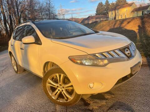 2009 Nissan Murano for sale at Trocci's Auto Sales in West Pittsburg PA