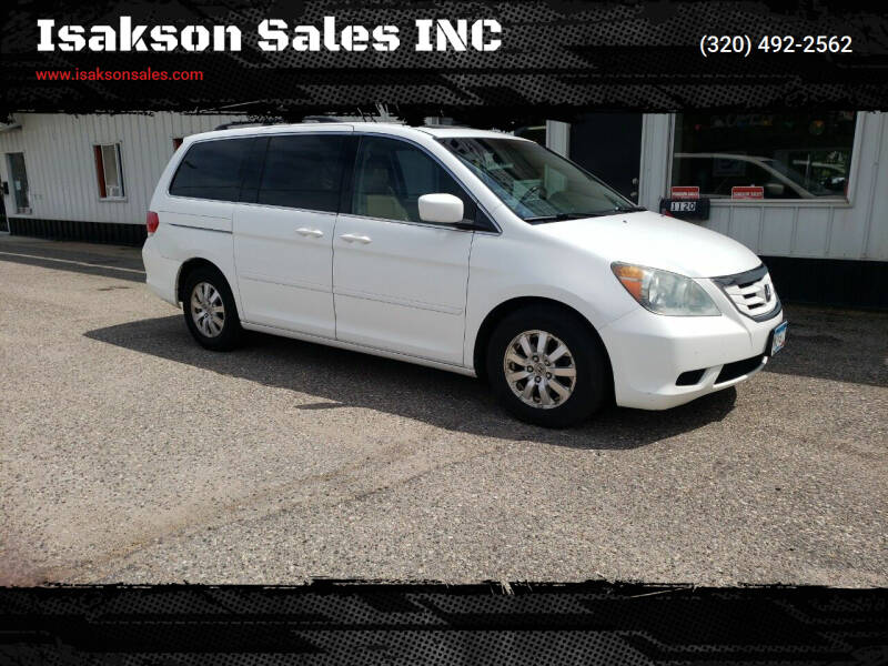 2008 Honda Odyssey for sale at Isakson Sales INC in Waite Park MN