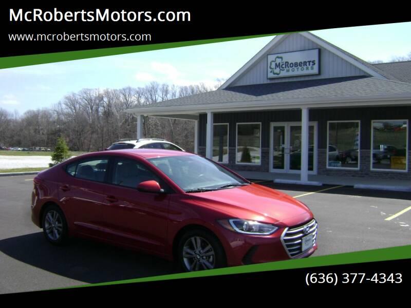 2018 Hyundai Elantra for sale at McRobertsMotors.com in Warrenton MO