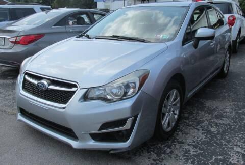 2015 Subaru Impreza for sale at Express Auto Sales in Lexington KY