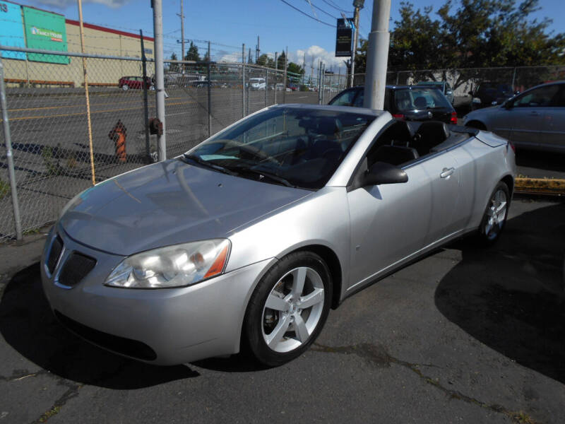 2007 Pontiac G6 for sale at Family Auto Network in Portland OR