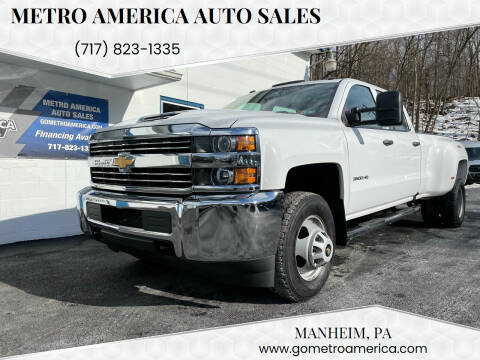2018 Chevrolet Silverado 3500HD for sale at METRO AMERICA AUTO SALES of Manheim in Manheim PA
