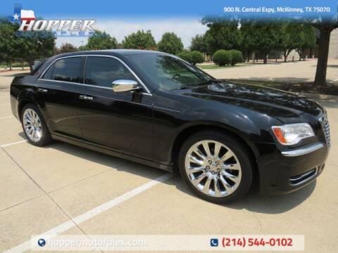 2014 Chrysler 300 for sale at HOPPER MOTORPLEX in Mckinney TX