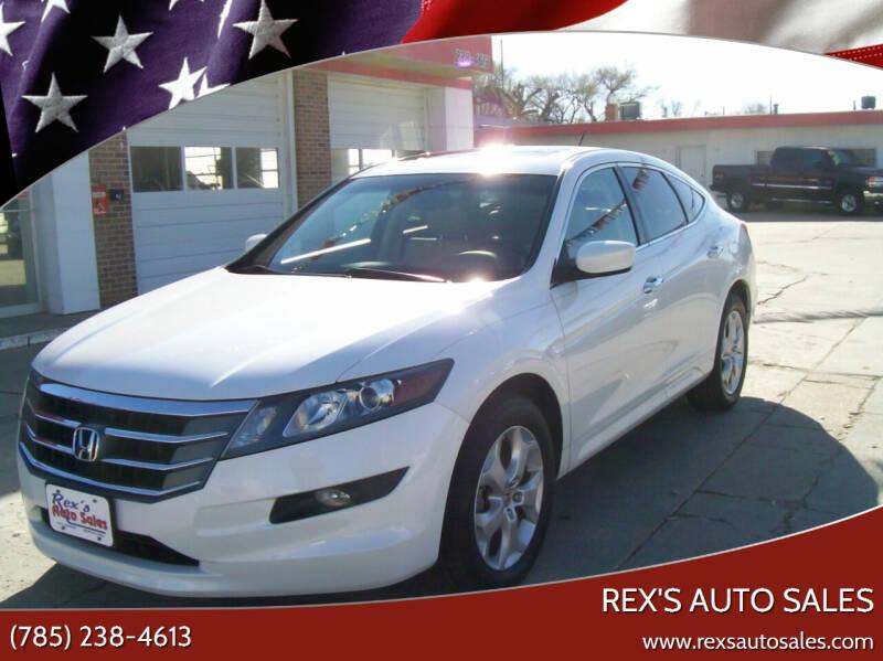 2012 Honda Crosstour for sale at Rex's Auto Sales in Junction City KS
