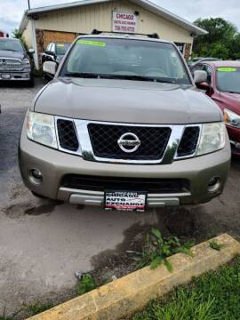 2008 Nissan Pathfinder for sale at Chicago Auto Exchange in South Chicago Heights IL