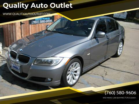 2009 BMW 3 Series for sale at Quality Auto Outlet in Vista CA
