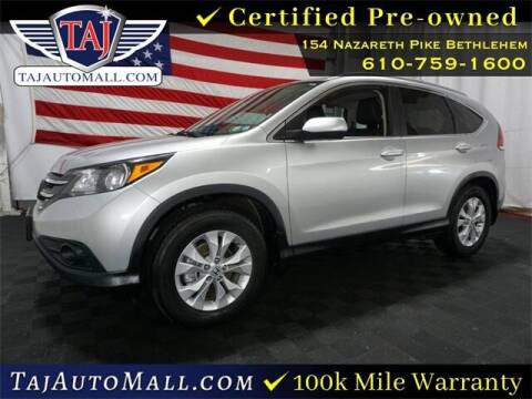2012 Honda CR-V for sale at Taj Auto Mall in Bethlehem PA
