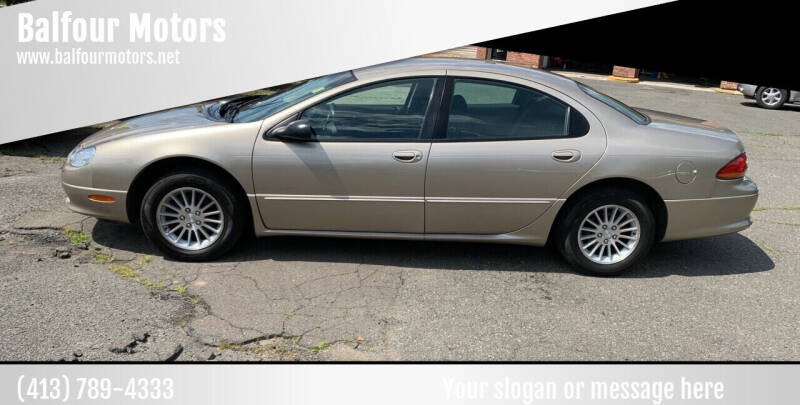 2002 Chrysler Concorde for sale at Balfour Motors in Agawam MA
