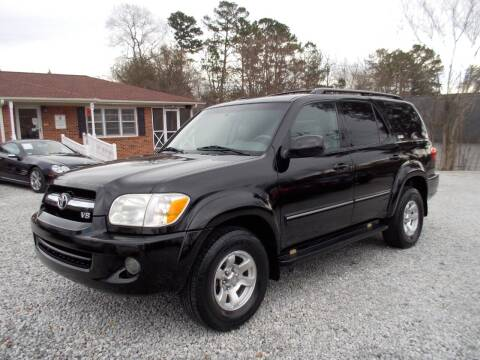 2005 Toyota Sequoia for sale at Carolina Auto Connection & Motorsports in Spartanburg SC
