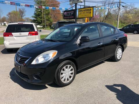 2012 Nissan Versa for sale at Wise Investments Auto Sales in Sellersburg IN