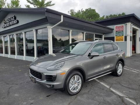 2015 Porsche Cayenne for sale at Prestige Pre - Owned Motors in New Windsor NY