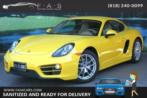 2014 Porsche Cayman for sale at Best Car Buy in Glendale CA