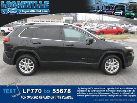2016 Jeep Cherokee for sale at Loganville Quick Lane and Tire Center in Loganville GA