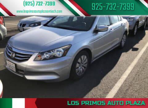 2012 Honda Accord for sale at Los Primos Auto Plaza in Antioch CA