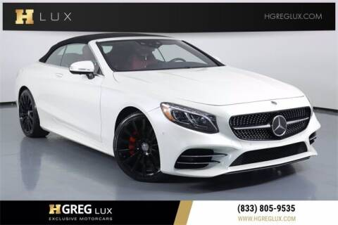 2019 Mercedes-Benz S-Class for sale at HGREG LUX EXCLUSIVE MOTORCARS in Pompano Beach FL