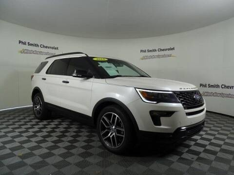 2018 Ford Explorer for sale at PHIL SMITH AUTOMOTIVE GROUP - PHIL SMITH CHEVROLET in Lauderhill FL