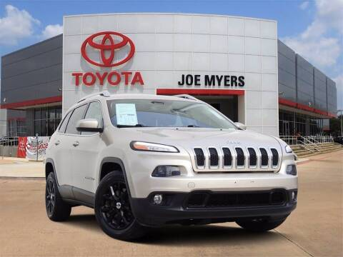 2015 Jeep Cherokee for sale at Joe Myers Toyota PreOwned in Houston TX
