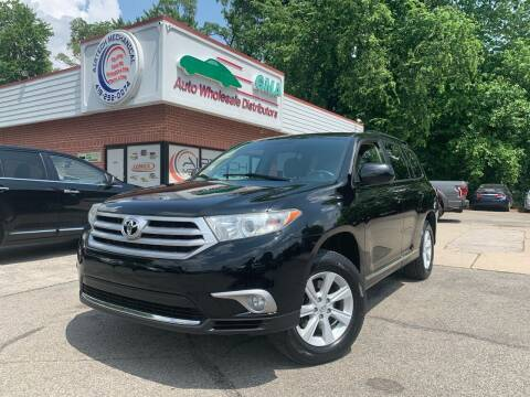 2013 Toyota Highlander for sale at GMA Automotive Wholesale in Toledo OH