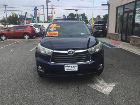 2015 Toyota Highlander for sale at Steves Auto Sales in Little Ferry NJ