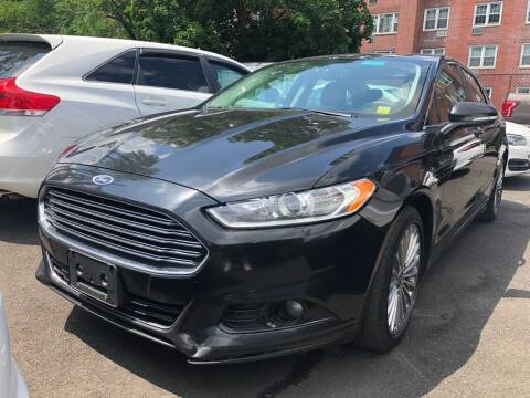 2013 Ford Fusion for sale at OFIER AUTO SALES in Freeport NY