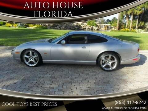 2005 Jaguar XKR for sale at AUTO HOUSE FLORIDA in Pompano Beach FL