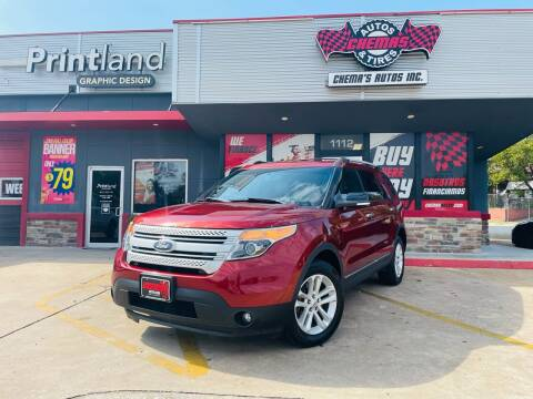 2014 Ford Explorer for sale at Chema's Autos & Tires in Tyler TX