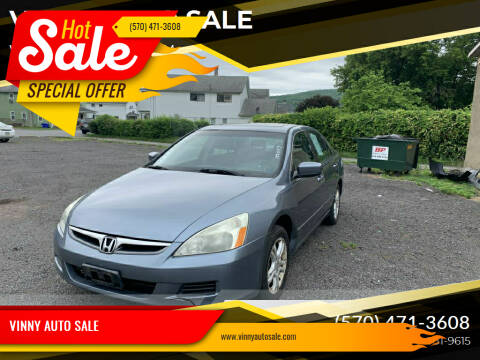 2007 Honda Accord for sale at VINNY AUTO SALE in Duryea PA
