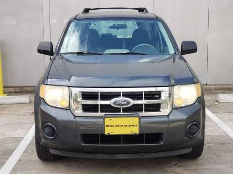 2008 Ford Escape for sale at Delta Auto Alliance in Houston TX