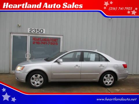 2009 Hyundai Sonata for sale at Heartland Auto Sales in Medina OH