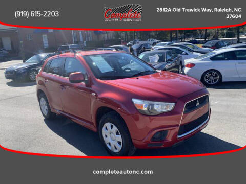 2011 Mitsubishi Outlander Sport for sale at Complete Auto Center , Inc in Raleigh NC