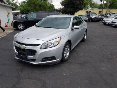 2016 Chevrolet Malibu Limited for sale at Nonstop Motors in Indianapolis IN